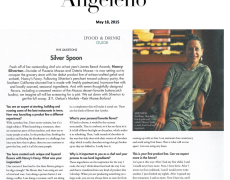 Angeleno – Silver Spoon