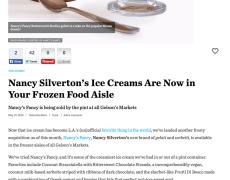 LA Magazine – Nancy Silverton's Ice Creams Are Now in Your Frozen Food Aisle